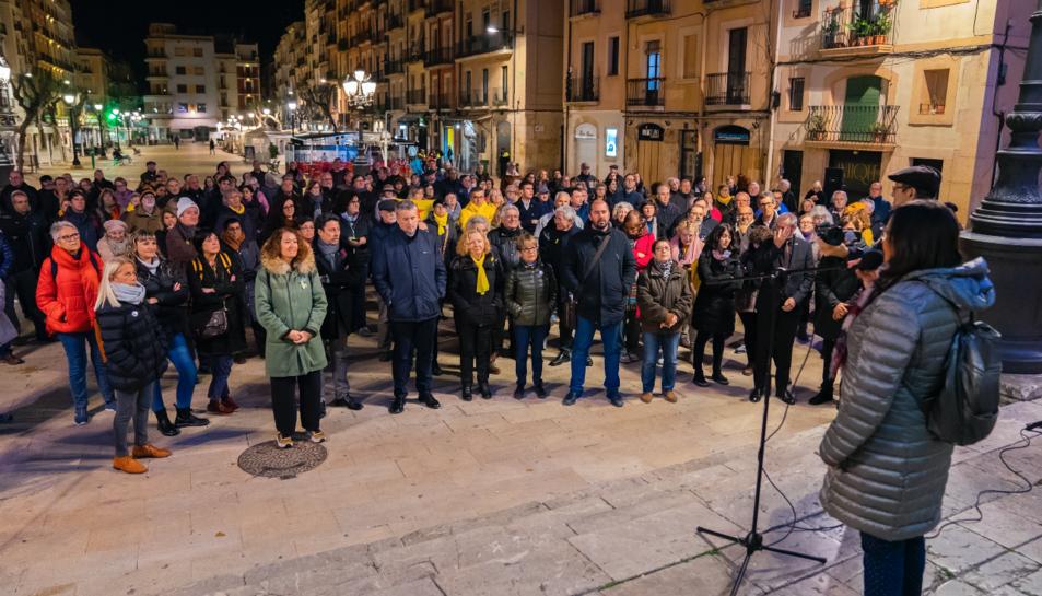 L'acte va comptar amb la participació de més d'un centenar de persones.