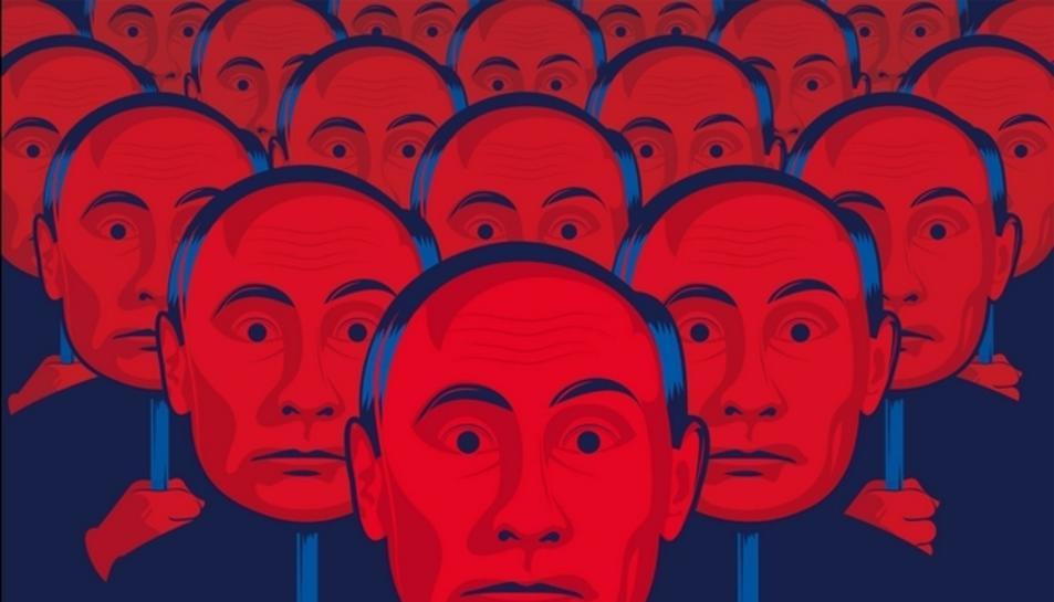 Imatge del cartell de 'Els testimonis de Putin'.
