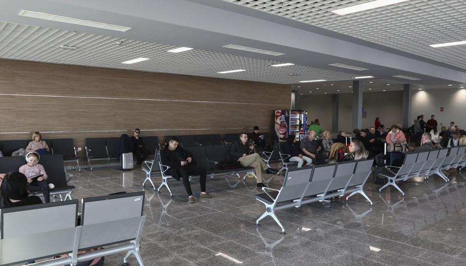 Una imatge de la nova termina de l'Aeroport de Reus.