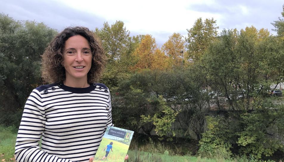 Cristina Borràs, que és de Mont-roig del Camp, és instructora i formadora de marxa nòrdica.