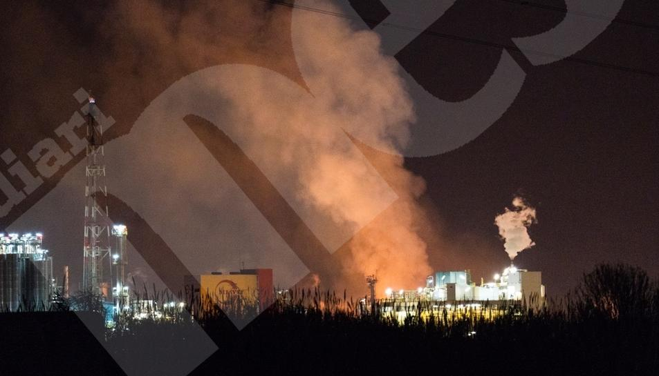 Explosión en la empresa IQOXE de la Canonja