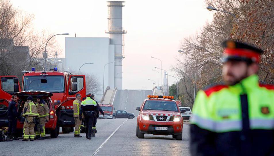 Imatge d'arxiu dels voltants de l'empresa afectada per l'explosió.