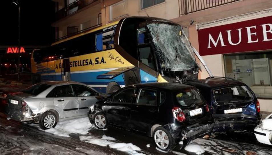 Escenari on es va produir l'accident al municipi d'Estella.