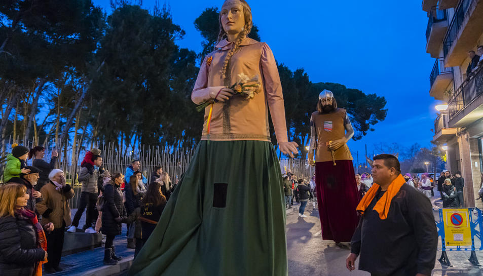 Imatges de la cercavila de la Festa Major de Vila-Seca
