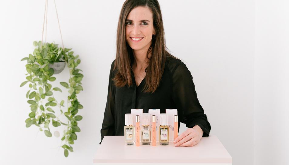 Marina Garcia, umpulsora de la gamma de pefums Maar.