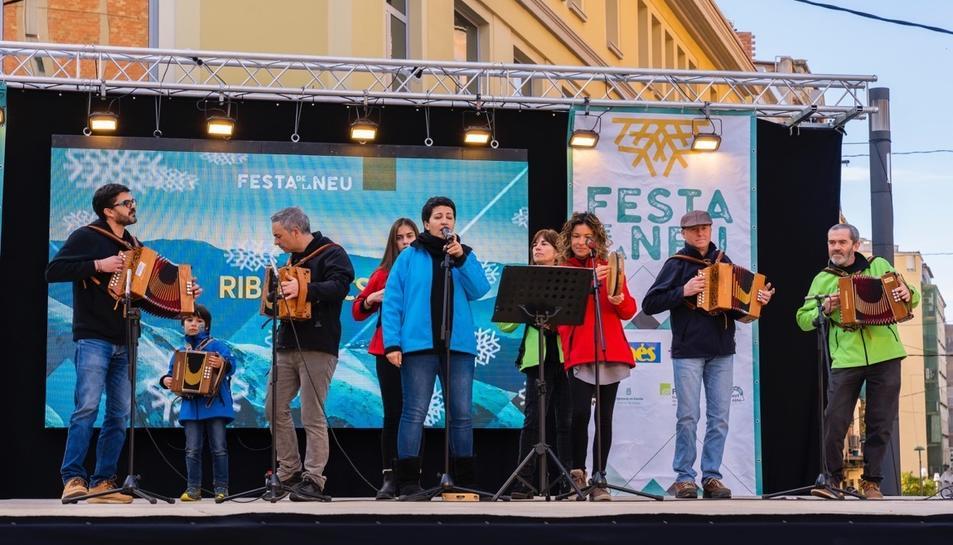 La Festa de la Neu llena Corsini (II)
