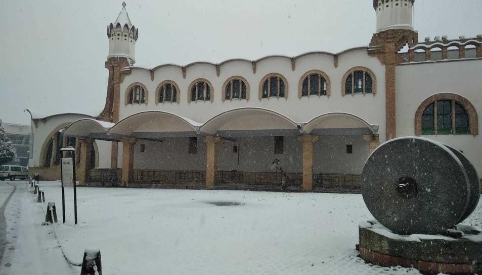 Imatge de Gandesa nevada.