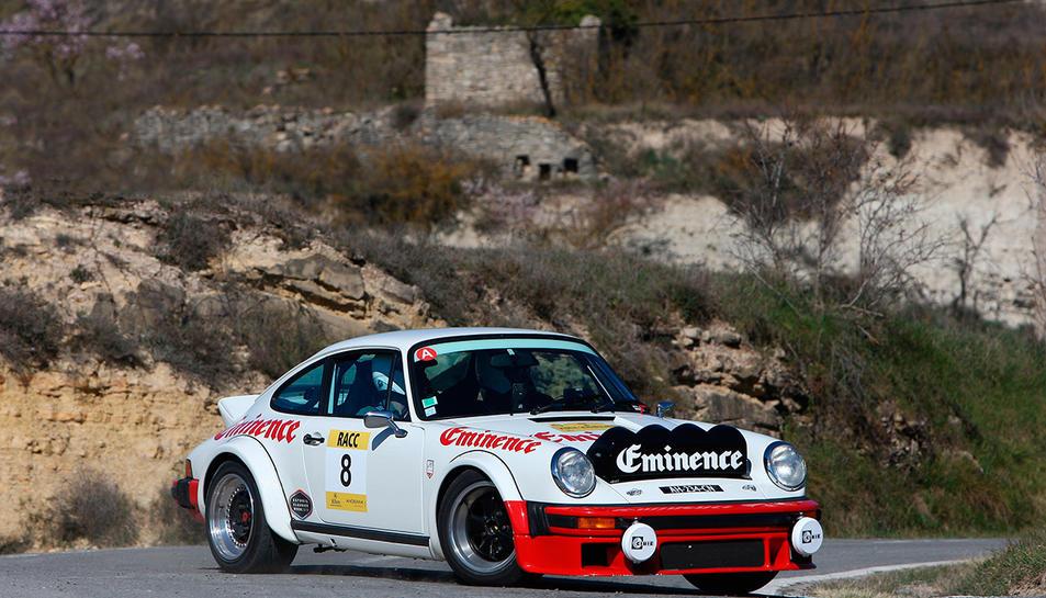 Un dels participants en l'edició del Rally Catalunya Històric celebrada l'any passat.