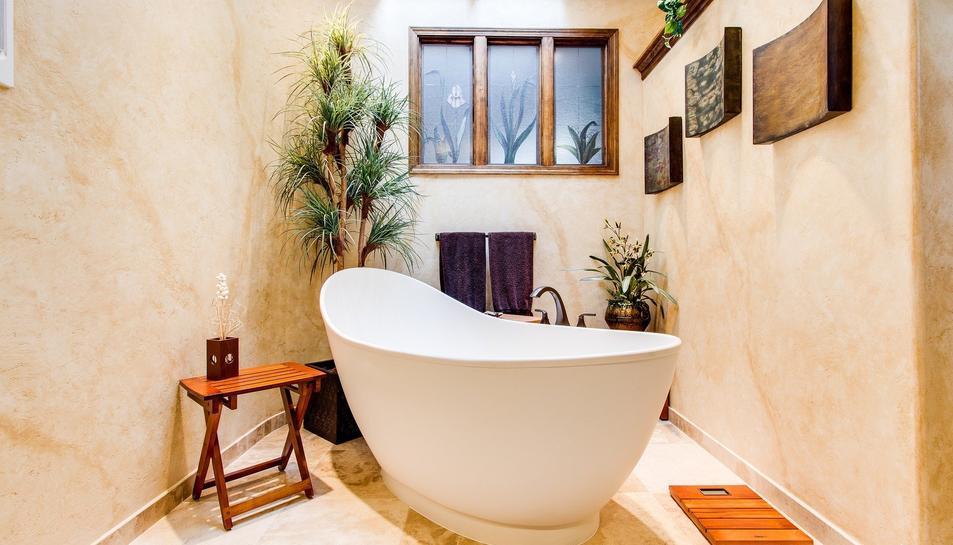 Les banyeres adquireixen un gran protagonisme en els nous dissenys de banys.