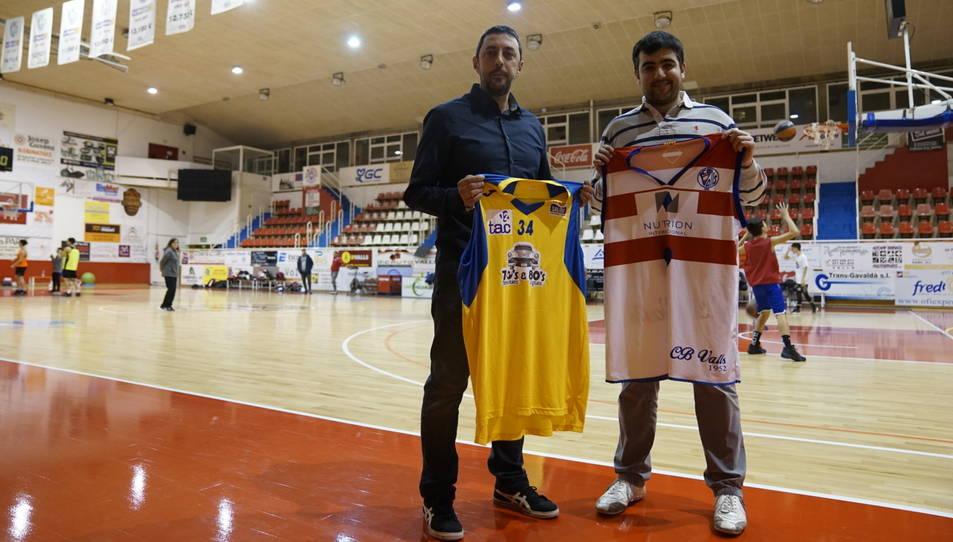 Juan Muñiz i Oriol Pozo van citar-se ahir al Joana Ballart.