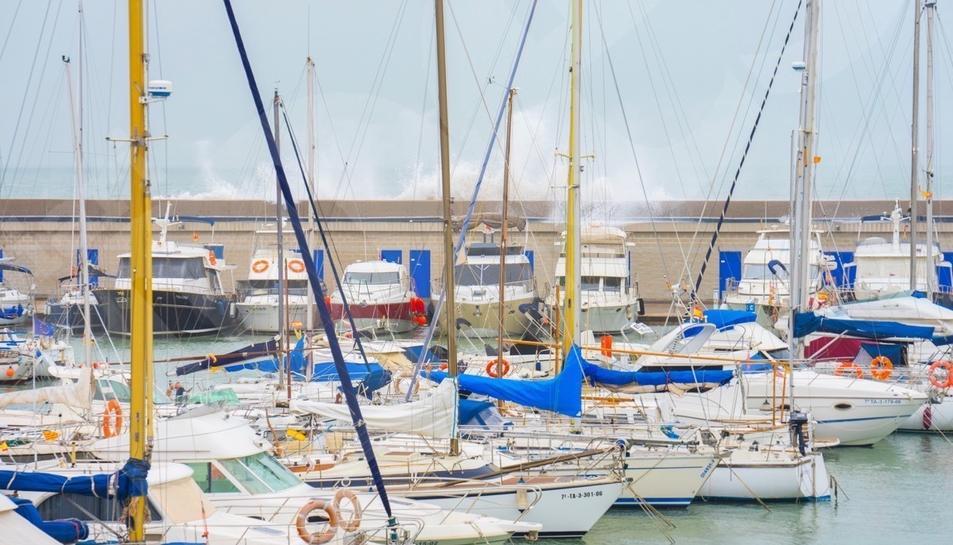 El Gloria colpeja el litoral tarragoní