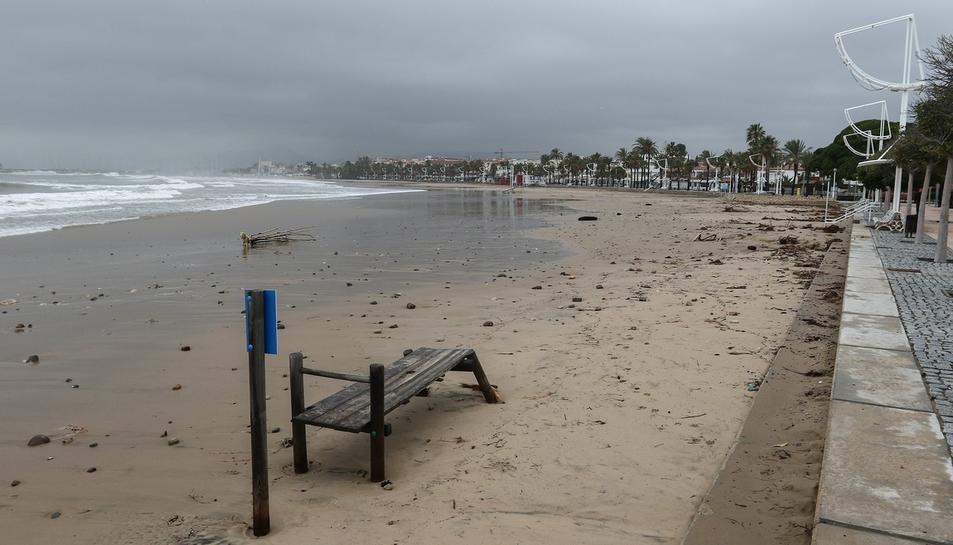 Cambrils després del temporal