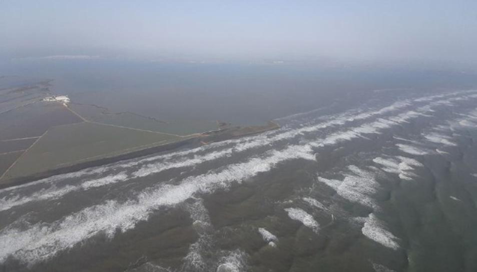 Imatge aèria Delta Ebre.
