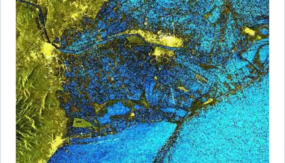 Imatge des del satèl·lit