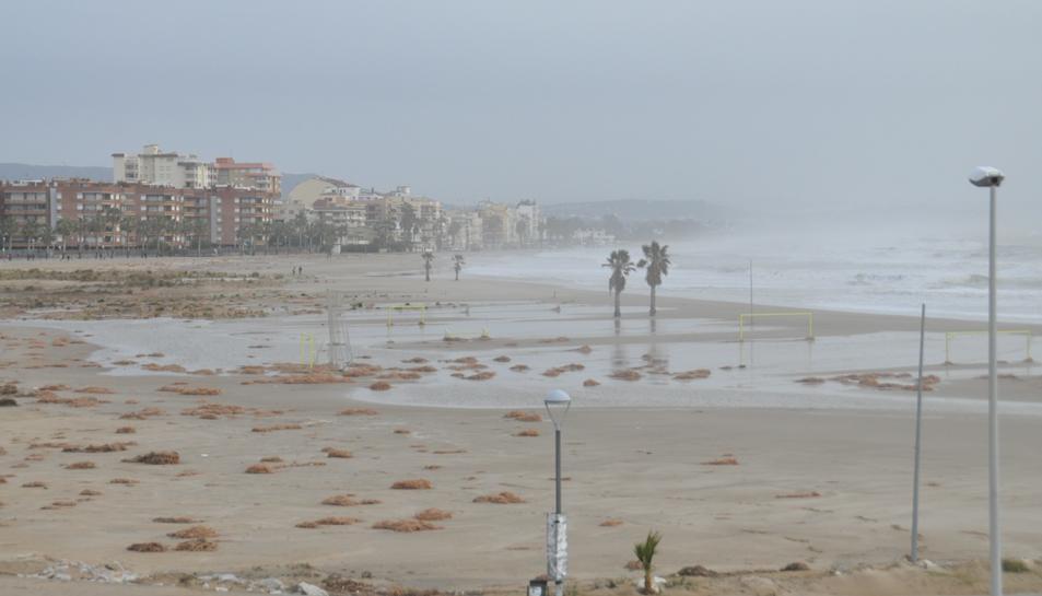Torredembarra després del temporal.