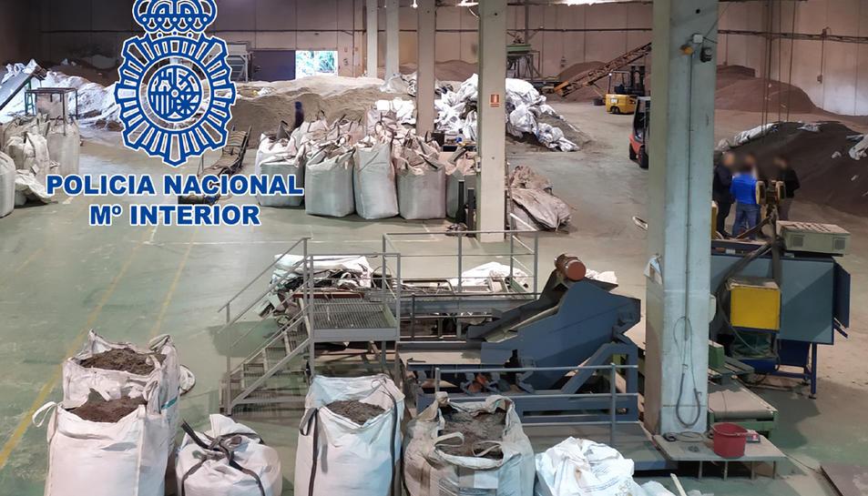 Imatge del centre de treball de Valls.