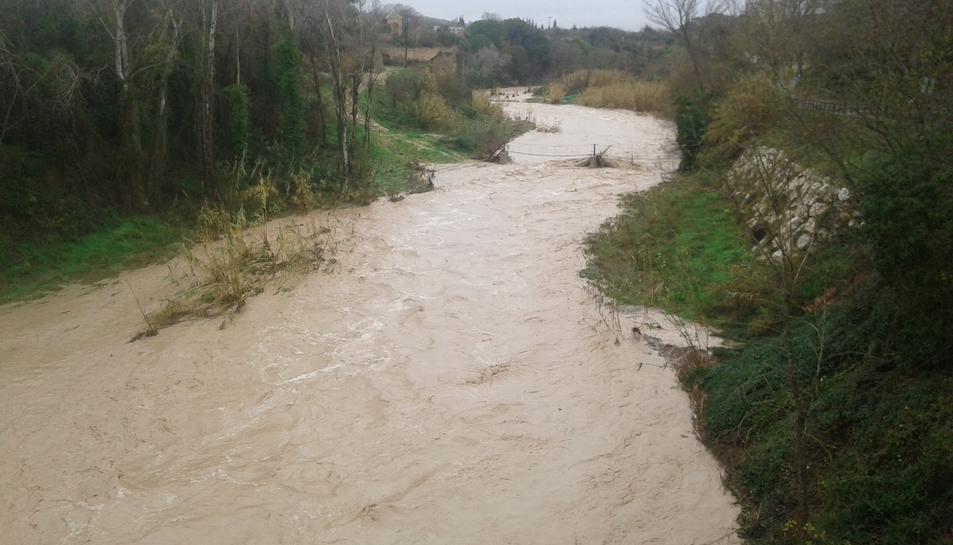 El riu Gaià a Vila-dodona.