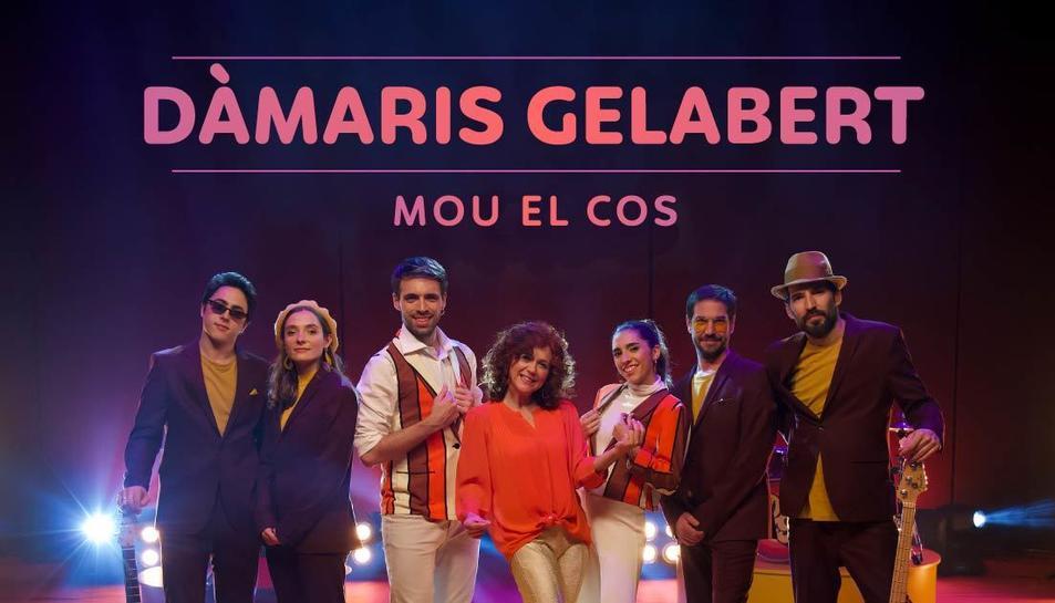 Imatge de l'espectacle 'Mou el cos' de Dàmaris Gelabert.