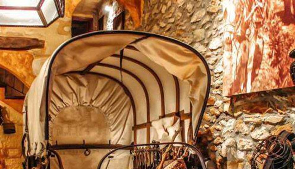 Carro de Rovira a la Casa Museu Can Joanet, a Torredembarra.