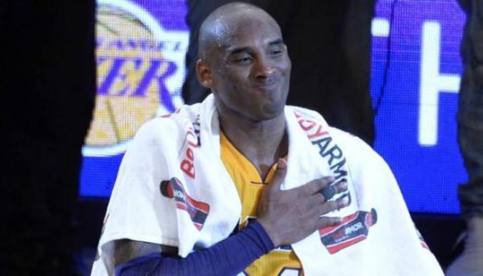 Kobe Bryant a una foto d'arxiu.