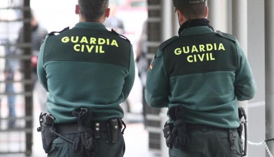 Agents de la Guàrdia Civil en una imatge d'arxiu.