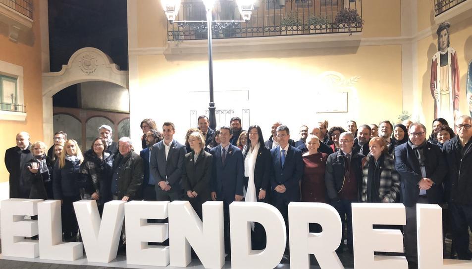 Imatge de l'acte inaugural al qual hi va assistir el subdelegat del Govern a Tarragona,