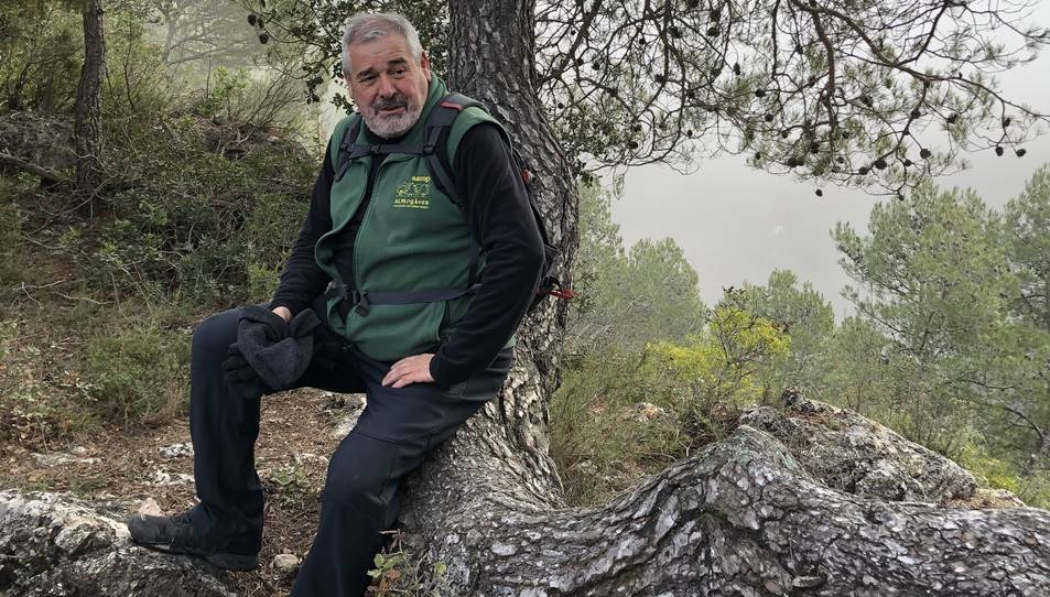Josep Moragas en una fotografia recent.