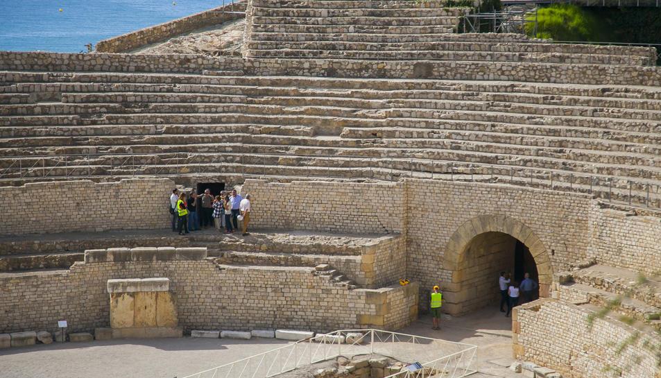 Imatge d'arxiu de les grades de l'Amfiteatre, tancat de fa 4 mesos.