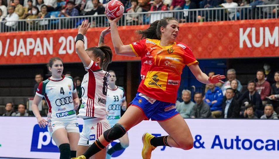 Un partit de la selecció espanyola femenina