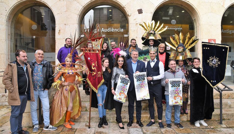 Presentació del programa d'actes del Carnaval