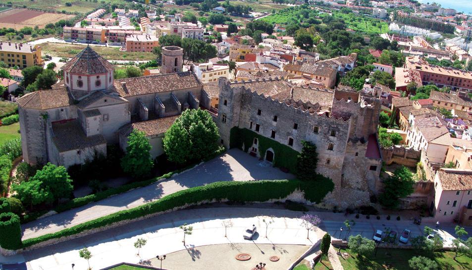Imatge del Castell d'Altafulla.
