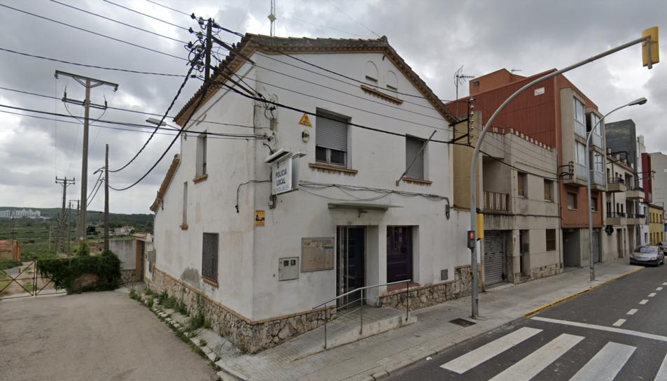 Imatge d'arxiu de la comissaria de la Policia Local de l'Arboç.