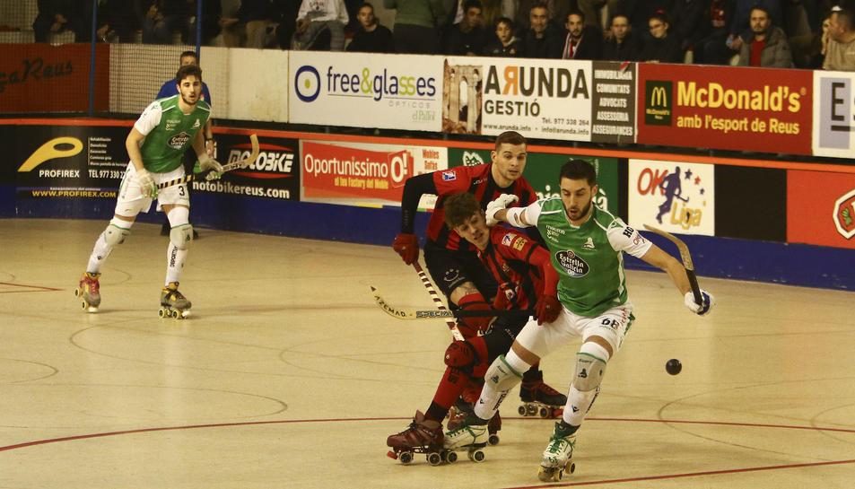 El darrer partit entre el Reus i el Liceo va acabar amb victòria gallega per 1 a 4.