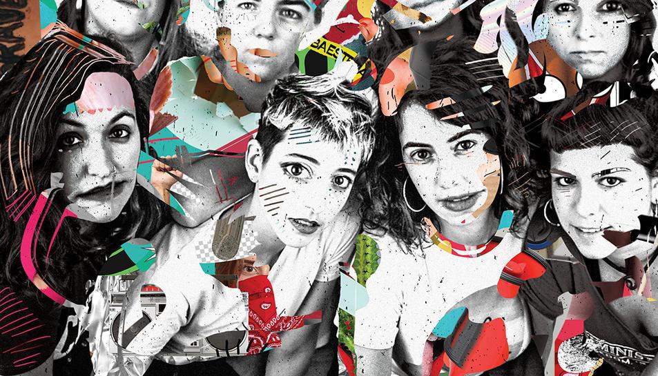 Amb aquest nou EP, Roba Estesa fa una passa endavant en la seva estètica, tant musical com gràfica.
