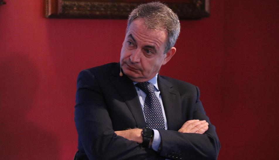 Zapatero en una imatge d'arxiu.