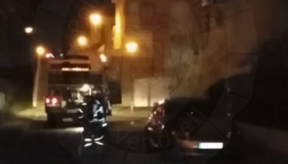 L'incident es va produir al carrer Mas Rubió.