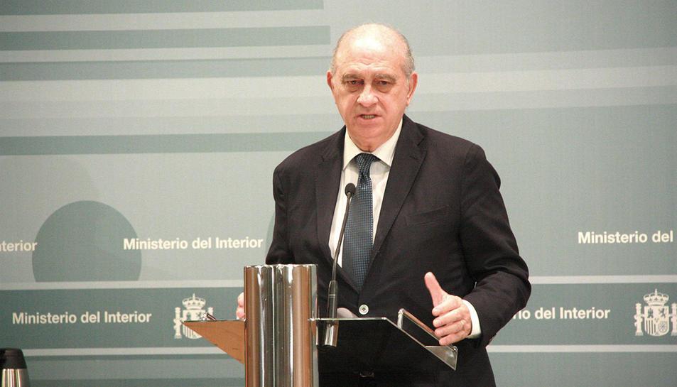 Jorge Fernández Díaz, ministre de l'Interior quan es van produir els fets.