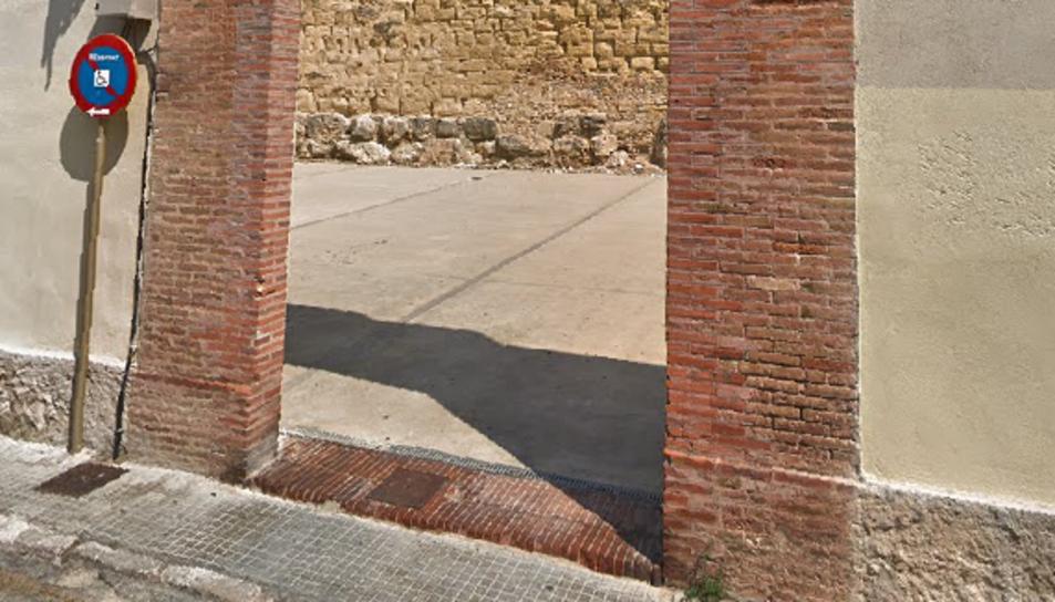 La plaça de la Rumba estarà entre la muralla i la URV.