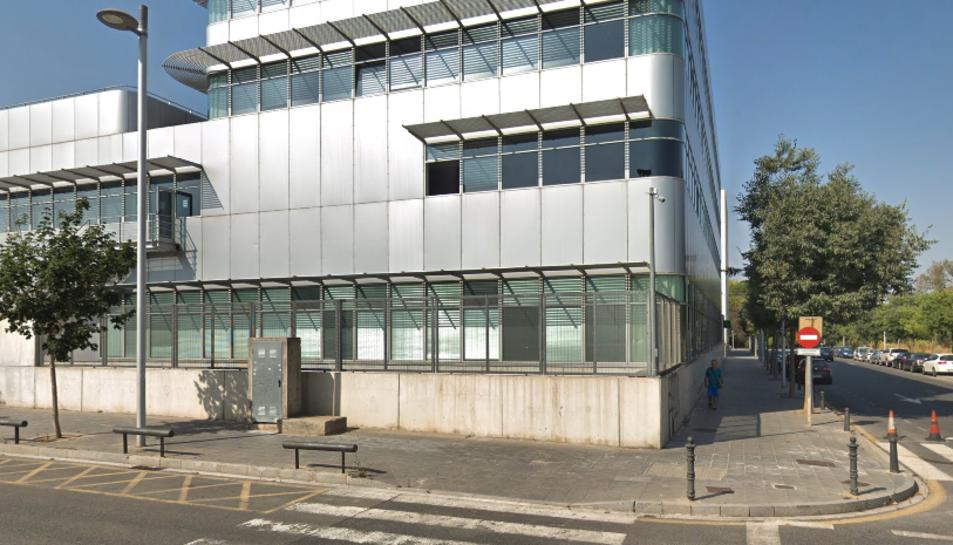 Imatge de la caserna de Guàrdia Civil a Tarragona.