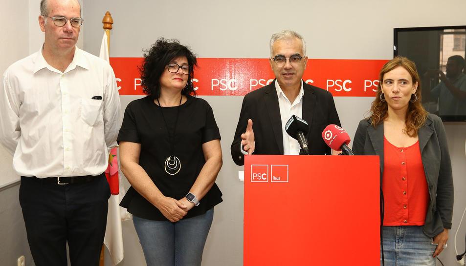 El portaveu del grup municipal del PSC, Andreu Martín.