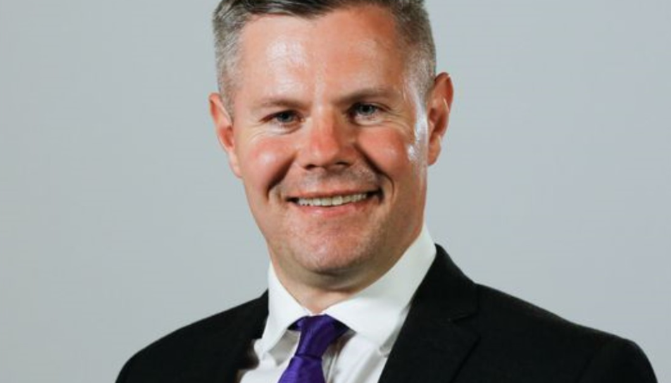 Derek Mackay, exministre de finances d'Escòcia