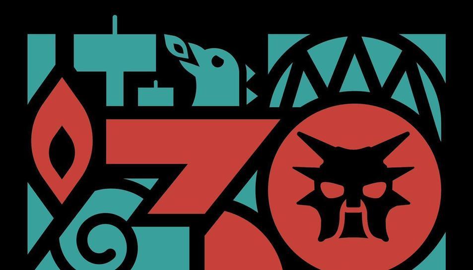 Logotip dels 30 anys d ela colla de Diables Voramar.