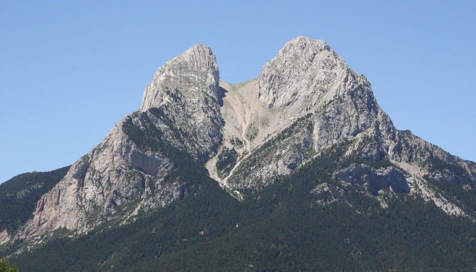 Vistes de la muntanya de Pedraforca, al Berguedà.