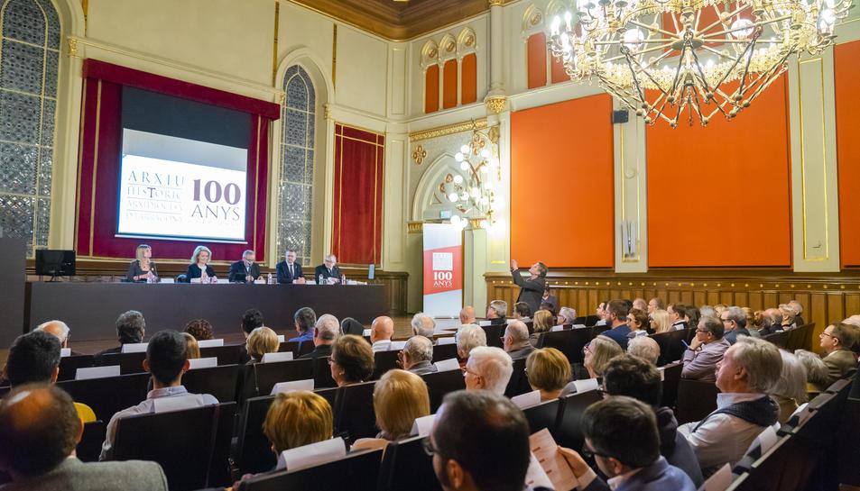 La presentació va tenir lloc al saló d'actes del Centre Tarraconense El Seminari.