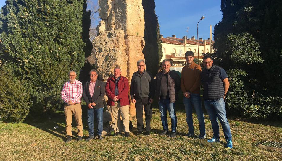 Imatge d'alcaldes del Pacte de Berà.
