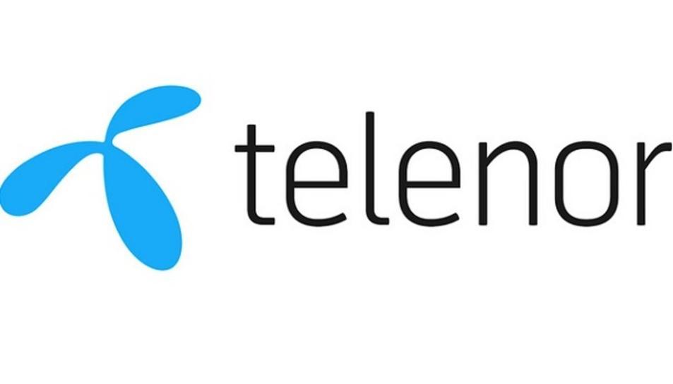 El logo de l'empresa 'Telenor', de Noruega, que ha decidit reduir la seva presència al MWC arran del coronavirus