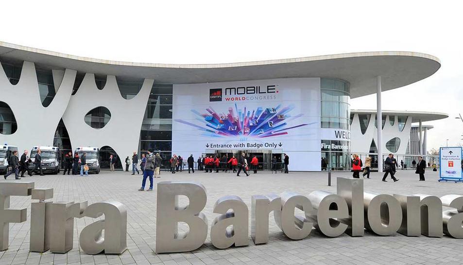 Imatge d'arxiu del Mobile World Congress de Barcelona.