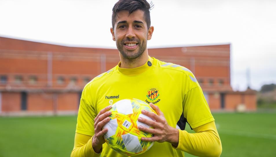 Gerard Oliva està sent una de les sensacions més positives del conjunt tarragoní en aquesta segona volta de la lliga.