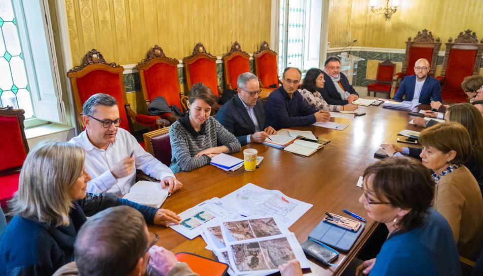 El Consell Assessor de Patrimoni Històric es va celebrar a la Sala dels Tarragonins Il·lustres.