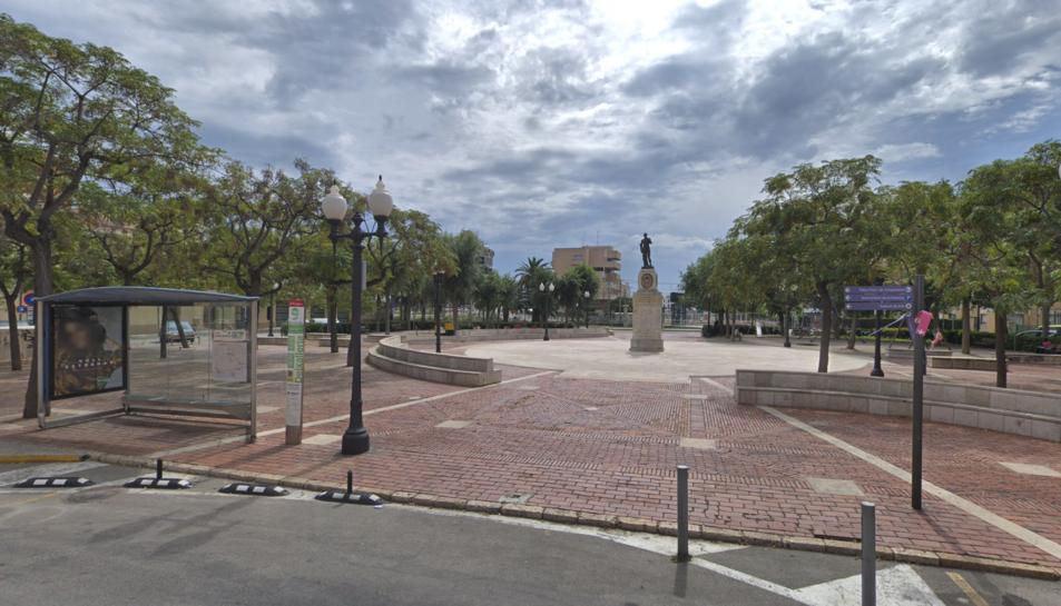 Imatge d'arxiu de la Plaça dels Carros.